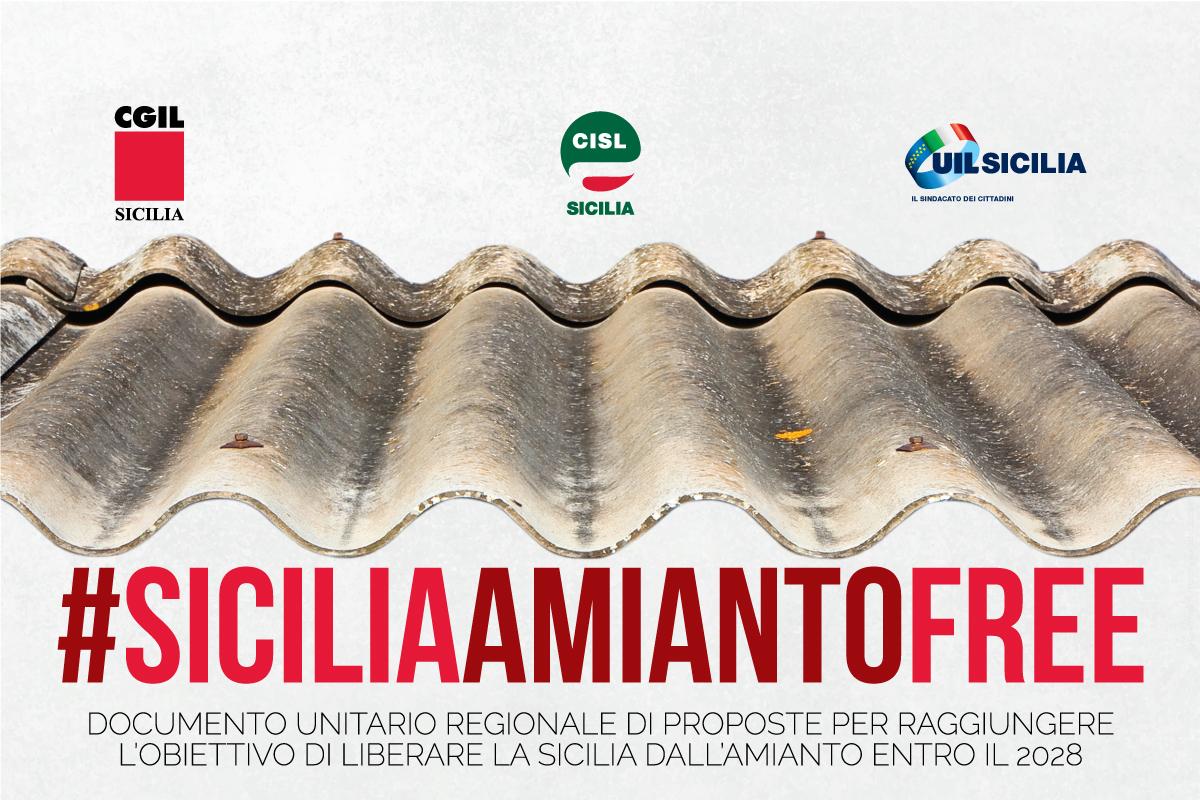 """#SICILIAAMIANTOFREE"""", ECCO IL DOCUMENTO PER LIBERARE L'ISOLA ENTRO IL 2028"""