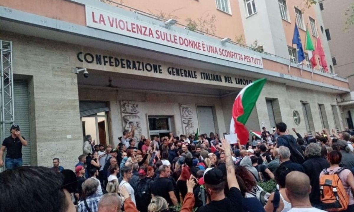 Assalto sede Cgil Confederale. La solidarietà della Cisl Sicilia